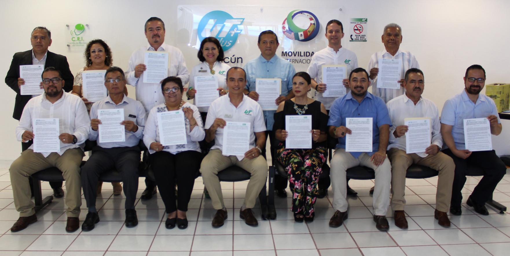 Firma de Convenios de Movilidad Nacional